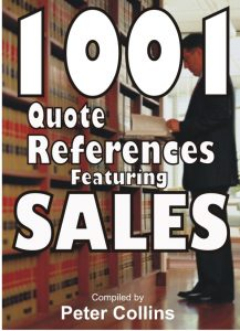 1001 Quote References Featuring SALES