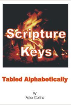 Scripture Keys Tabled Alphabetically