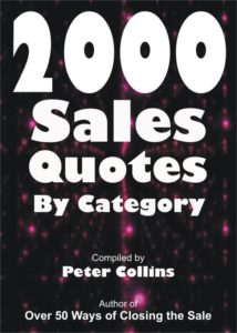 2000 Sales Quotes By category