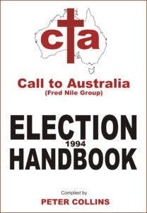 CTA Election Handbook 1994