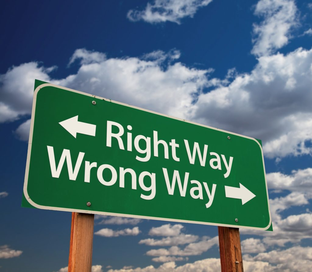Right Way Verses the Wrong Way to Sell