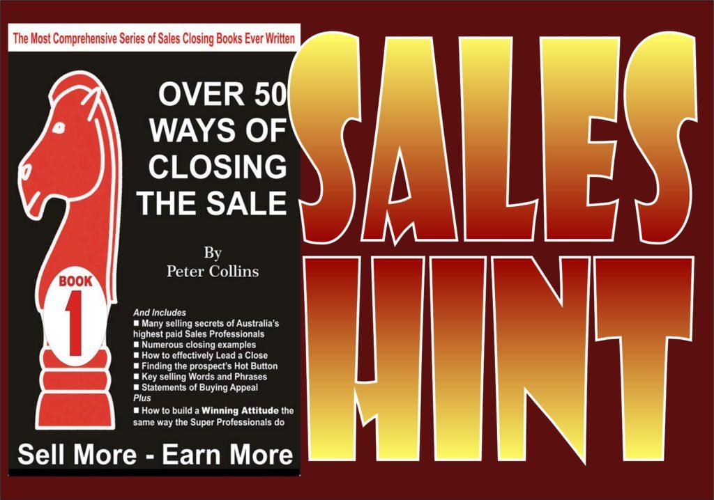 Sales Hint 05