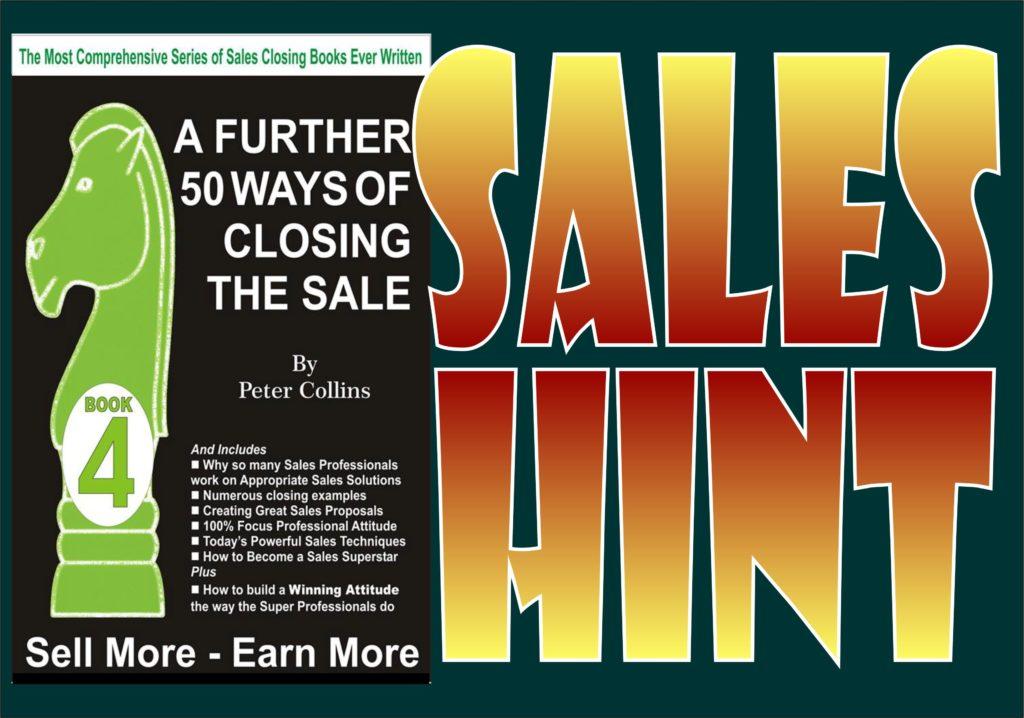 Sales Hint 08