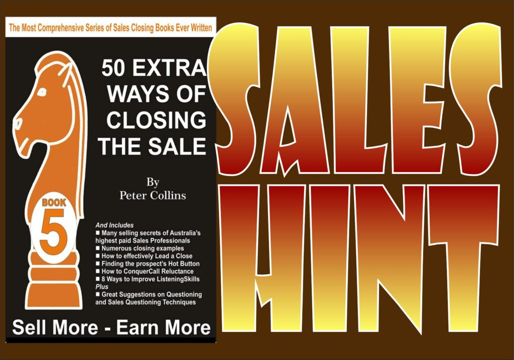 Sales Hint 09