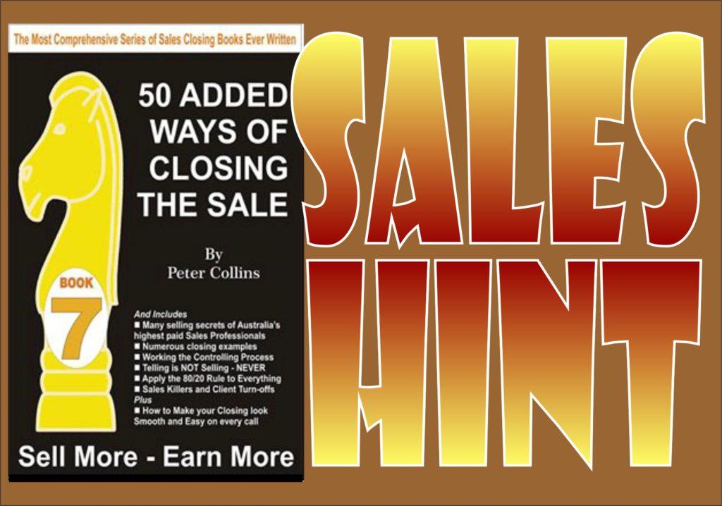 Sales Hint 11