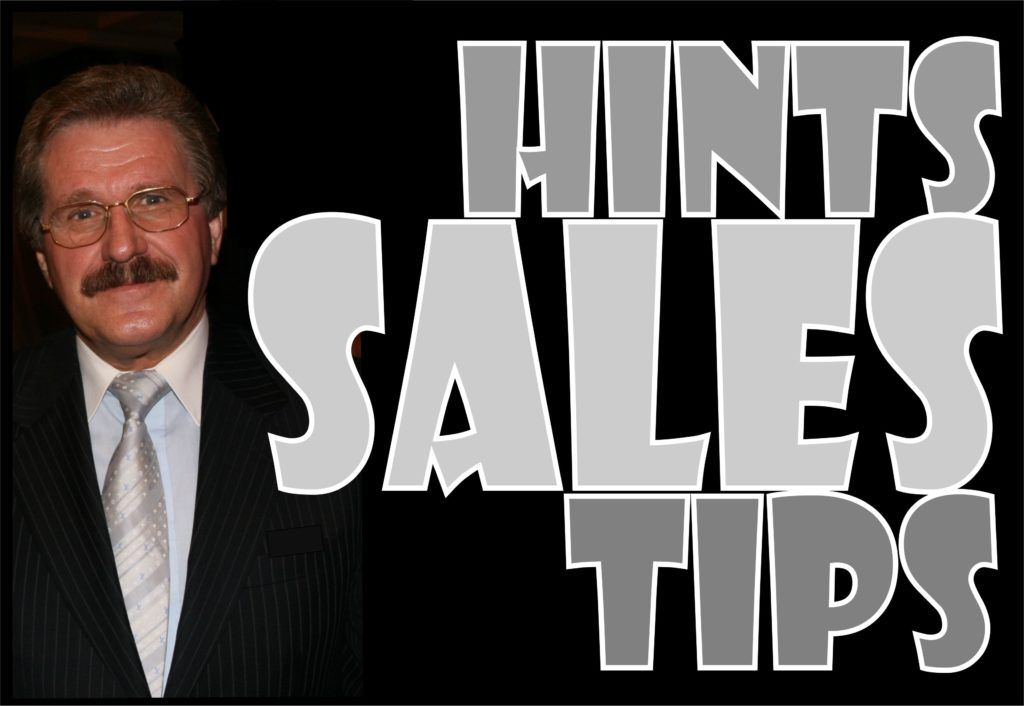 Sales Hints and Tips 01