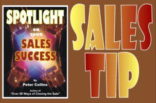 Sales Tip 10