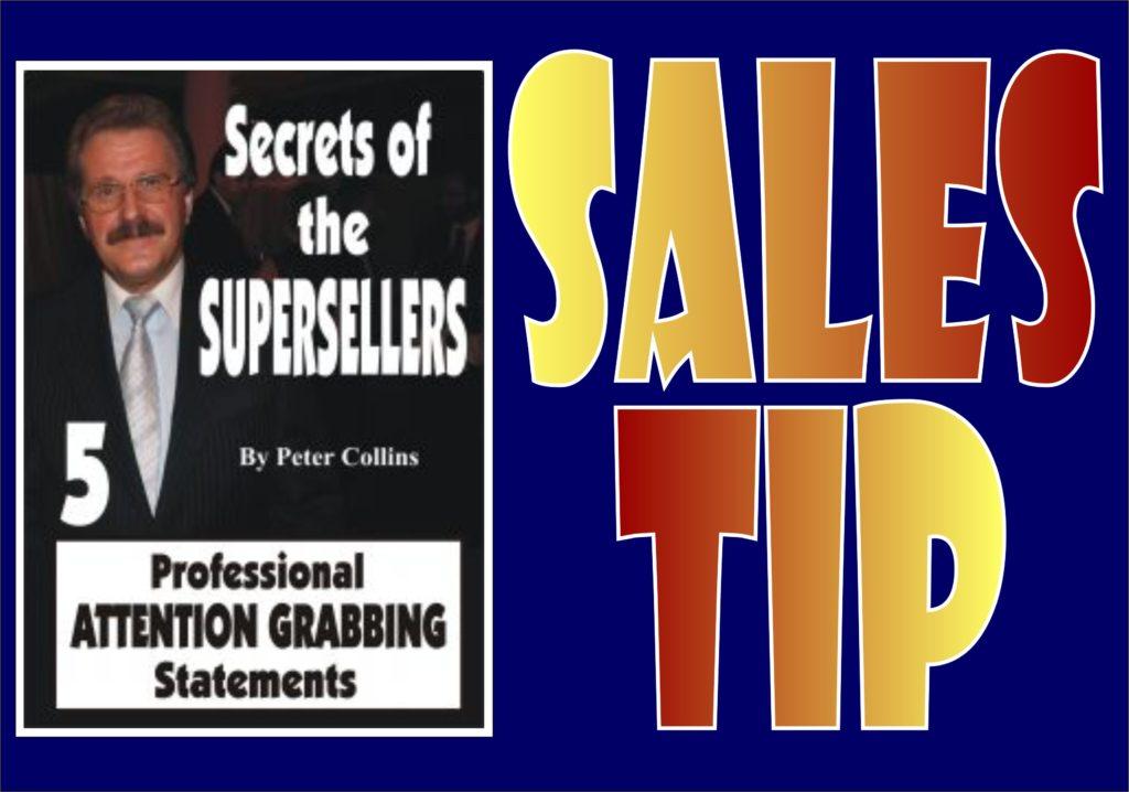 Sales Tip 08