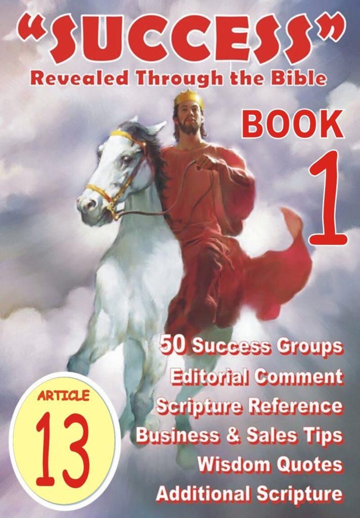 Success Bible Article 013