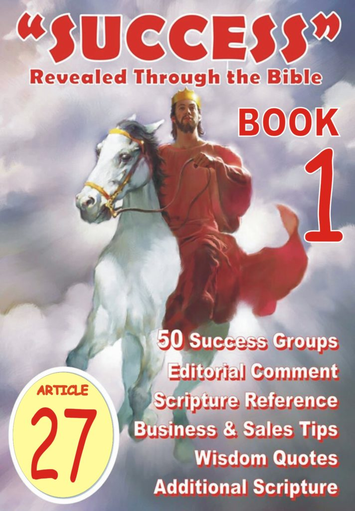 Success Bible Article 027