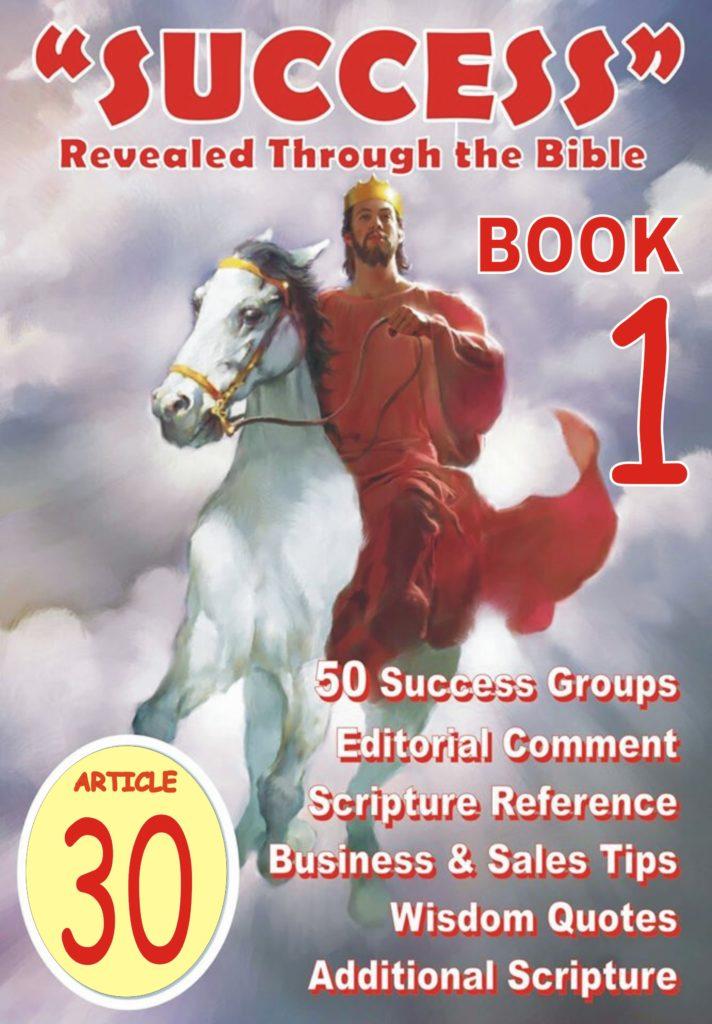 Success Bible Article 030