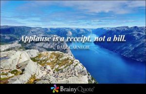 Applause-Bill-Carnegie