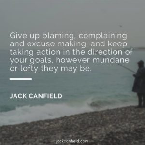 Canfield-Action-Blaming-Direction-Excuses-Goals