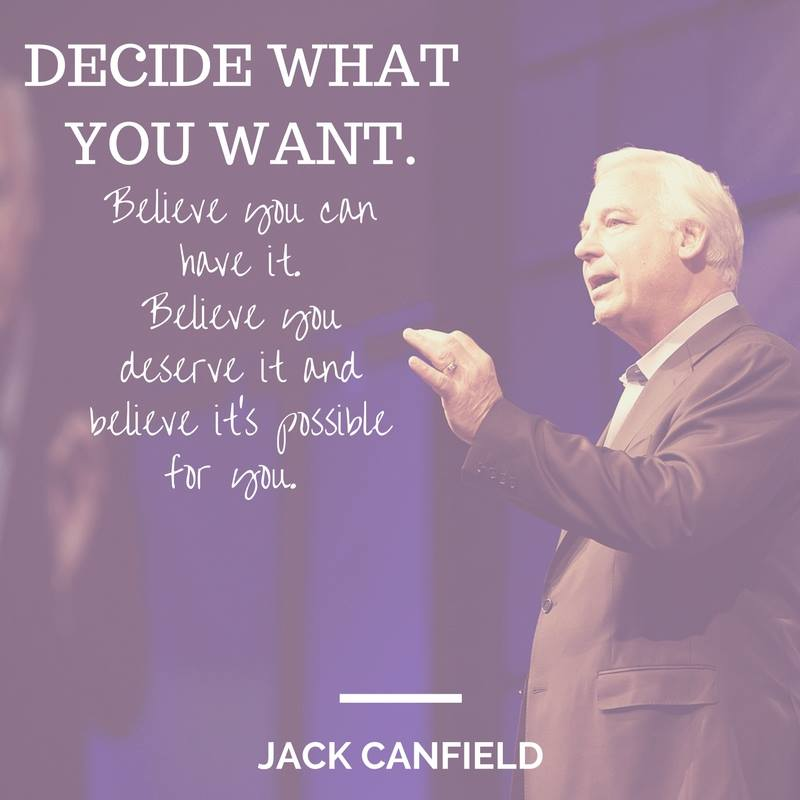 Canfield-Believe-Decide-Want-Possible