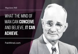 Conceive-Believe-Achieve-Hill