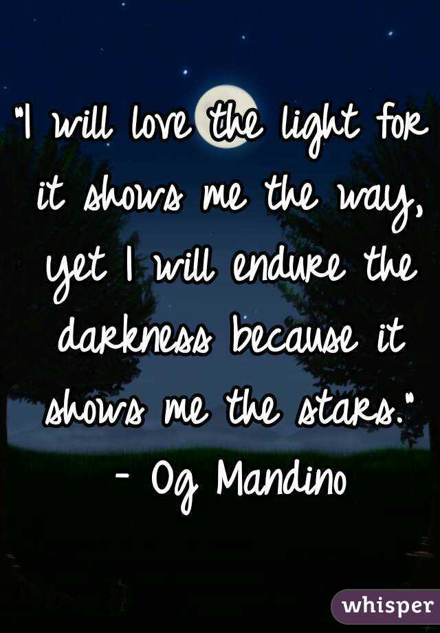 Endure-Love-Show-Way-Will-Stars-Darkness-Madino
