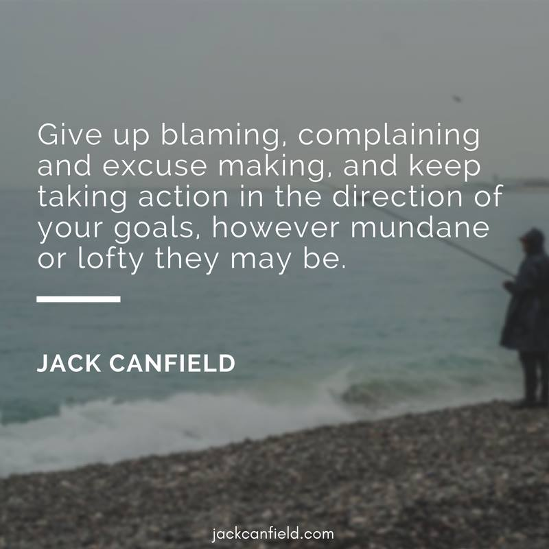 Goals-Action-Blaming-Direction-Excuses-Canfield