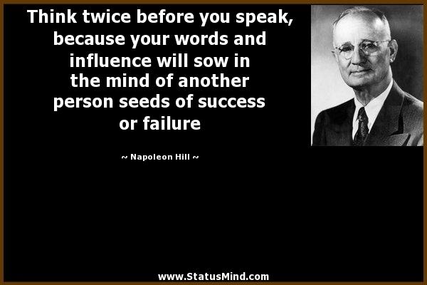Hill-Speak-Influence-Success