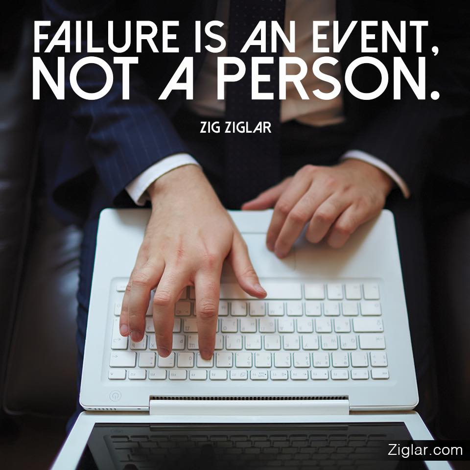 Person-Event-Failure-Not-Ziglar