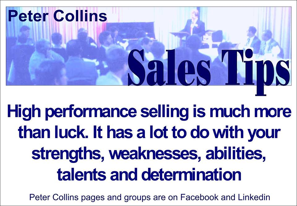 High Performance Selling is Much More than Luck