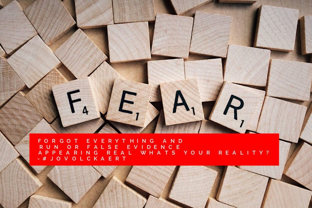 FEAR HAS BEEN A PET STUDY OF MINE FOR 40 YEARS