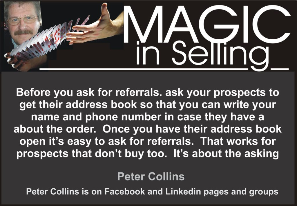 ASKING FOR REFERRALS MAGIC