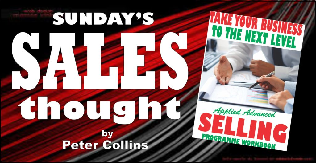 THREE THINGS SALESPEOPLE SHOULD ADHERE TO