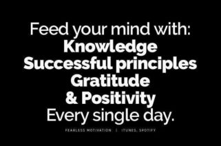 FEED YOUR MIND WITH KNOWLEDGE