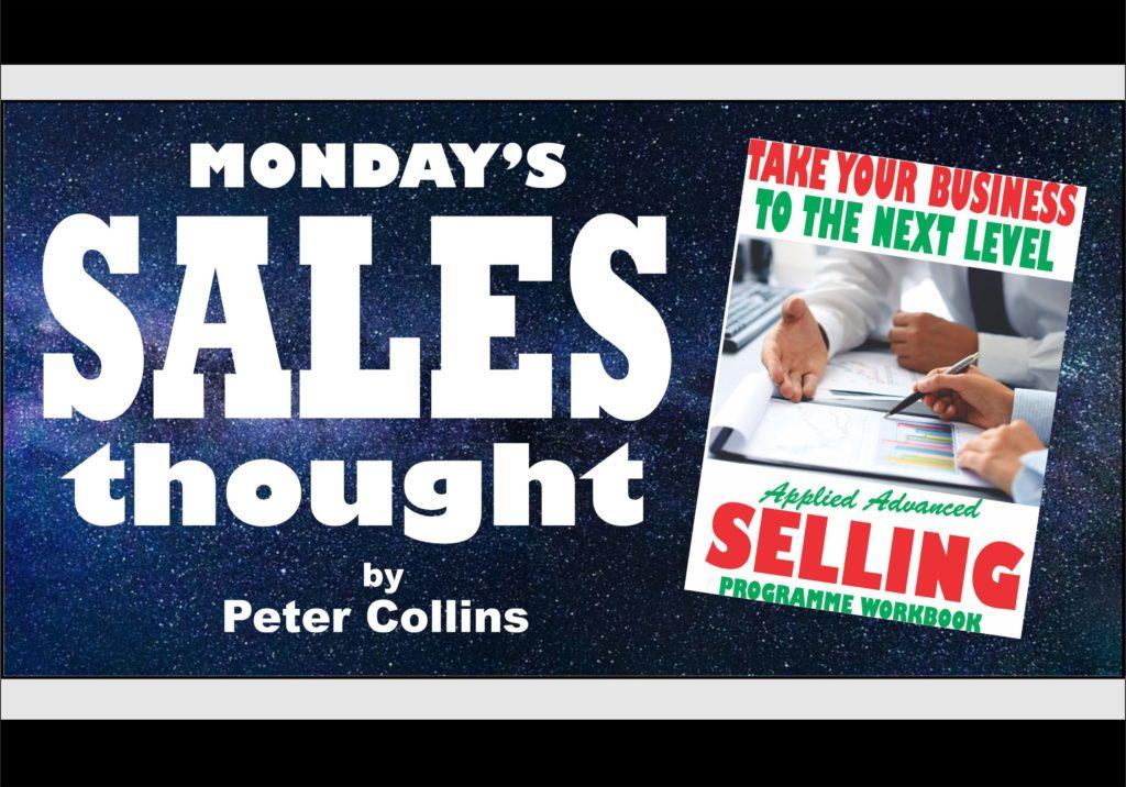 TWO COMFORT FACTORS TO APPRECIATE - Peter Collins, Profit Maker Sales
