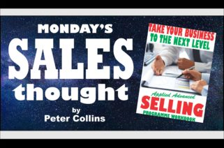 TWO COMFORT FACTORS TO APPRECIATE - Peter Collins, Profit Maker Sales