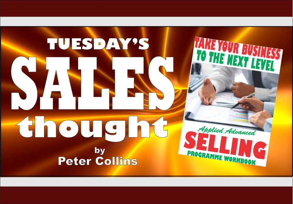 THREE THOUGHTS ON COMMITMENT - Peter Collins, Profit Maker Sales
