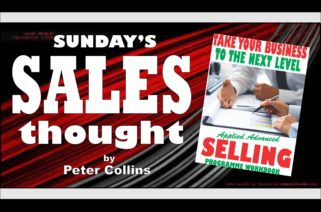 COLLECTIVE ACHIEVEMENT - Peter Collins, Profit Maker Sales