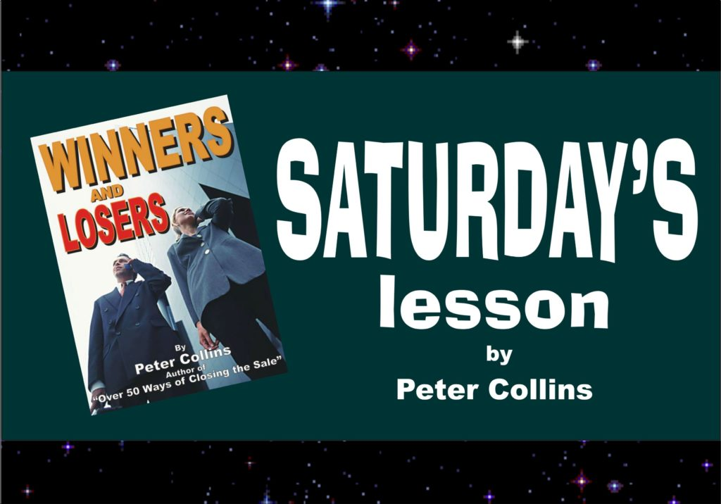 WINNERS TRY AND LEARN FROM THE MISTAKES THEY MAKE - Peter Collins, Profit Maker Sales