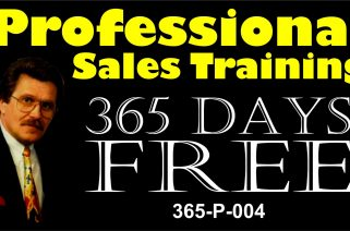 Sales Hint/Tips – 365 Days Free – Video Promo 08
