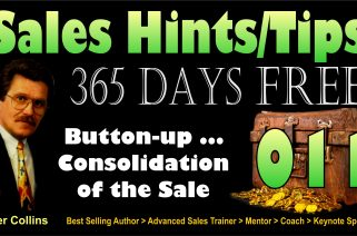 Button Up the |Consolidation Stage of the Sale