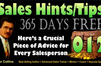65 012 Here's a Crucial Piece of Advice for Every Salesperson