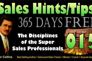 The Disciplines of the Super Sales Professionals