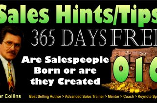 Are Salespeople Born or Are They Created