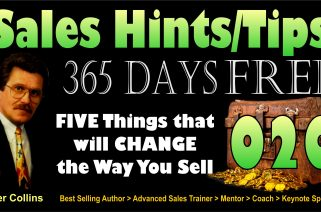 Five Things that Will Change the Way You Sell