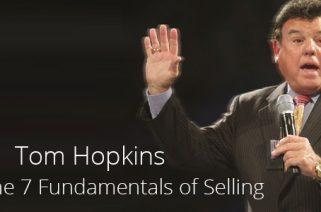 Tom Hopkins Sales Fundamentals