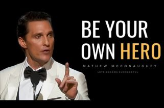 Life Is Not FAIR, Mathew McConaughey, Let's Become Successful, Motivational