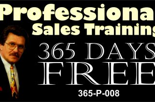 Sales Hints/Tips - 365 Days Free - Video Promo 09