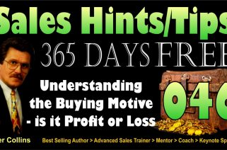 Understanding the Buying Motive - Is it Profit or Loss