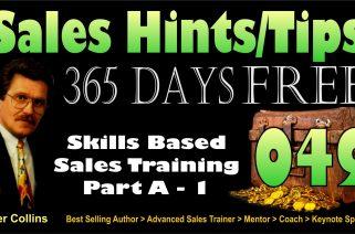 Skills Based Sales Training - Part A