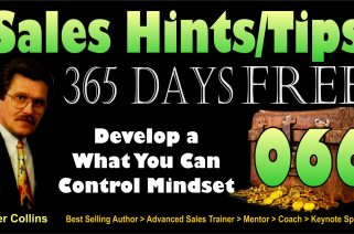 Develop a What You Can Control Mindset