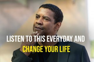 Denzel Washington's Life Advice Will Leave You SPEECHLESS - LISTEN THIS EVERYDAY AND CHANGE YOUR LIFE