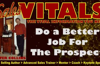Sales Podcast 030 Do a Better Job For The Prospect - Peter Collins