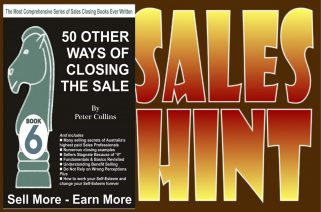 Clever Salespeople Learn to Work the way a Doctor does.