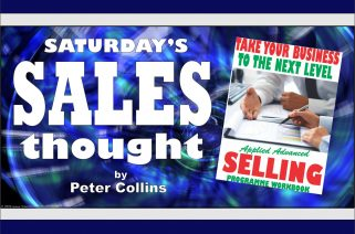 LOW SALES MAY BE CAUSED BY FACTORS OUT OF YOUR CONTROL